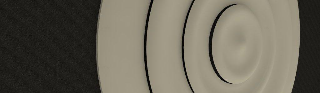 wall ripple light rings