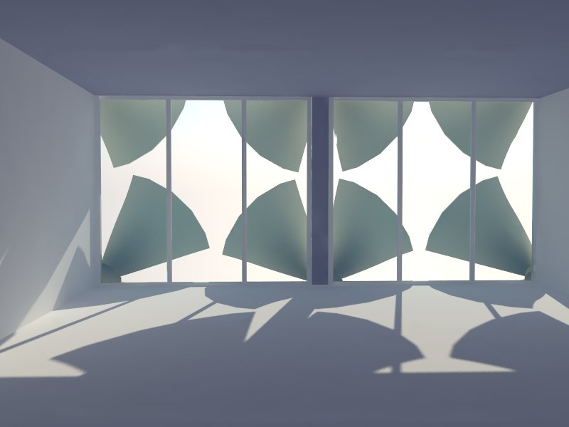 Solar shade inside view chris casey