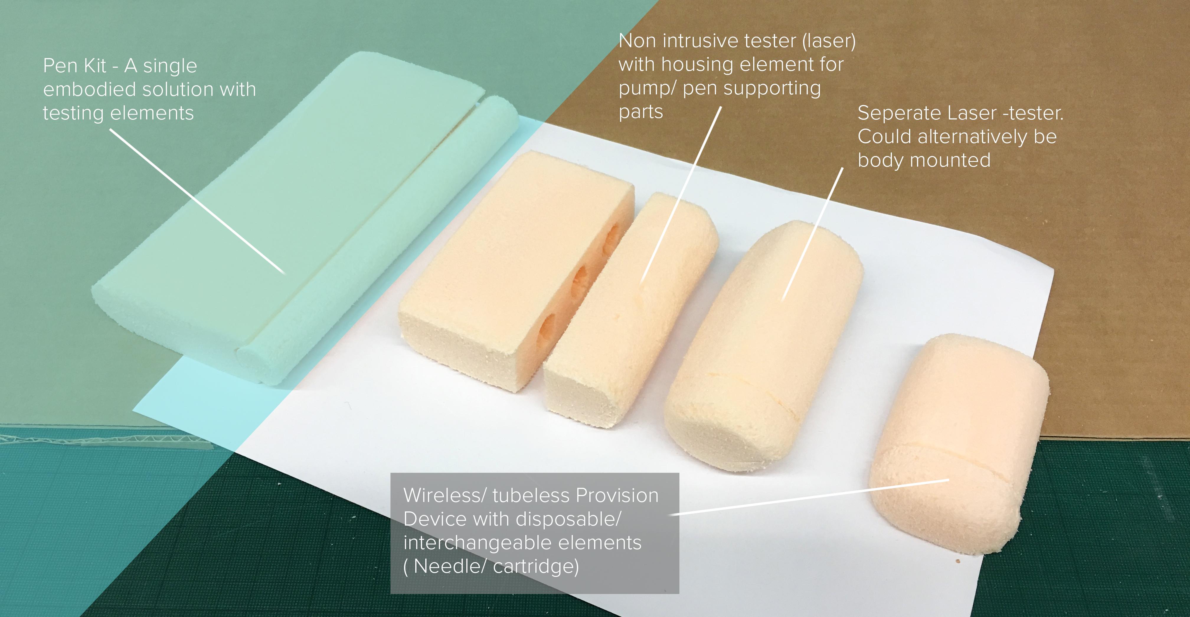 foam models 2