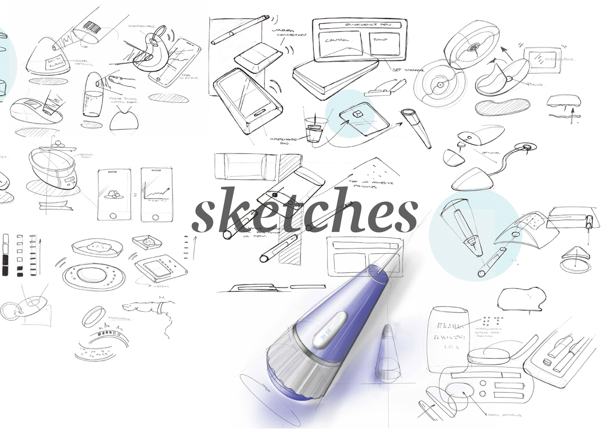 Sketches and designs